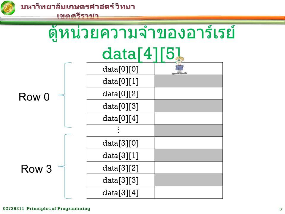 ตู้หน่วยความจำของอาร์เรย์ data[4][5]